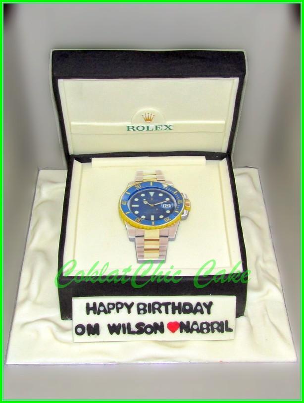 Cake Rolex OM WILSON 15 cm
