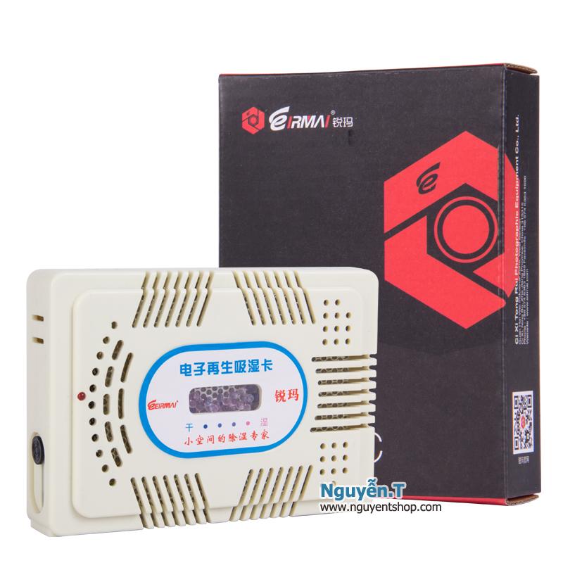 Máy hút ẩm EIRMAI HC-63C cho máy ảnh thiết bị điện tử (chỉ thị màu)