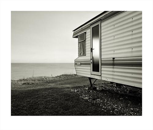 Living On The Edge. Happisburgh, Norfolk.