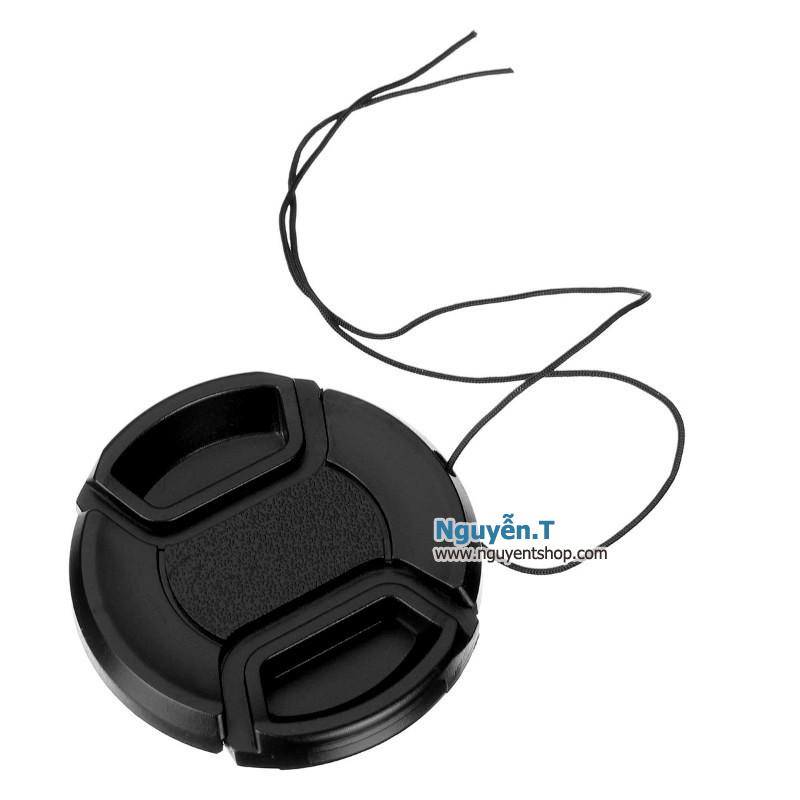 Lens cap nắp đậy bảo vệ ống kính máy ảnh phi 55mm