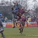Tyndale's Joe Mills and Sedgley Park's Daniel Maher contest a high ball-7168