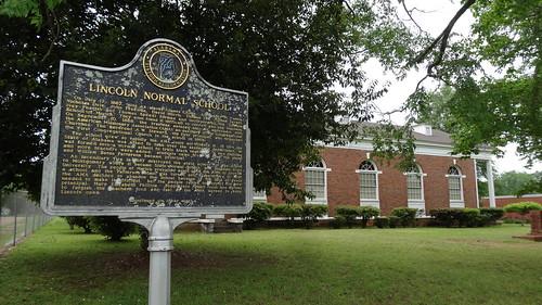 Lincoln Normal School Historic Marker, Marion, AL