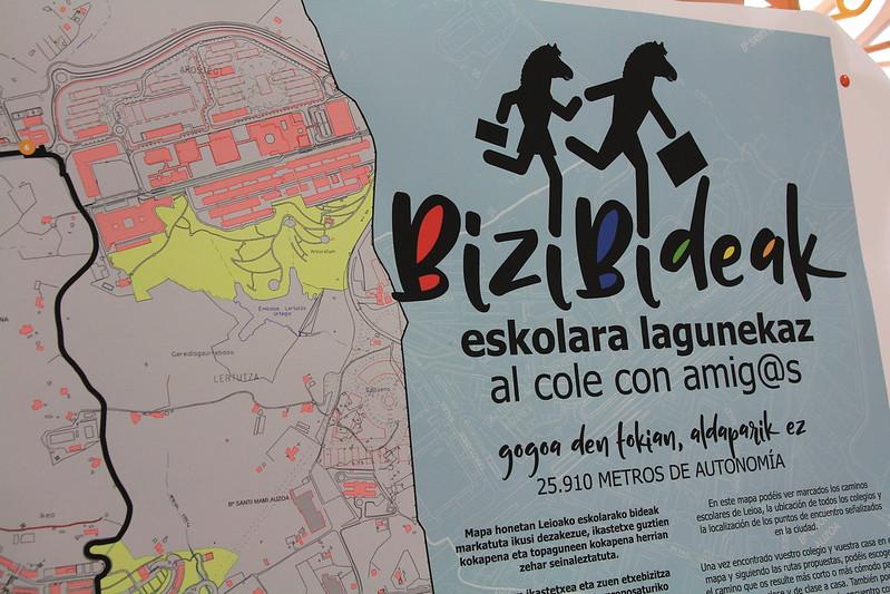 Bizibideak - Eskolara Lagunekaz 2017