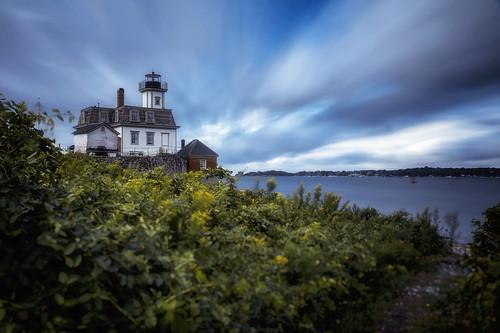 roseisland lighthouse roseislandlight newport rhodeisland ri seascape coastalnewengland longexposure unitedstates us