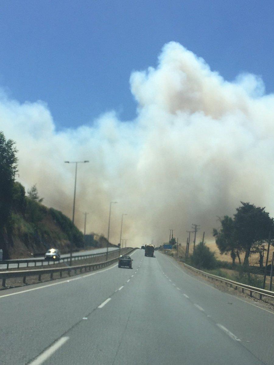 REGION DE LA ARAUCANIA Un voluntario herido y un camión de Bomberos quemado deja incendio forestal en Ercilla