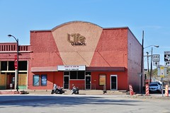 Old Plaza Theater in Kaufman Texas