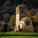 little Malvern Church with Autumn sun light (1 of 1) by steamnut777