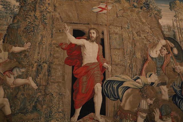 Pieter van Aelst, Arazzo con la Resurrezione di Gesù Cristo (XVI secolo) - Musei Vaticani