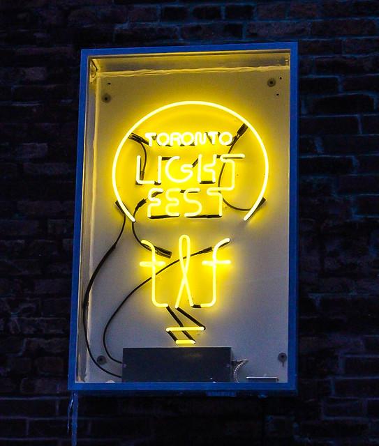 Toronto Light Festival 2018