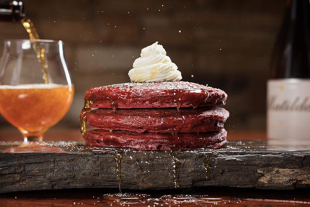 Fleur Red Velvet Pancakes - Anthony Mair
