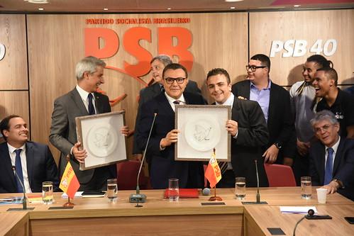 Filiação dos deputados federais Alessandro Molon e Aliel Machado