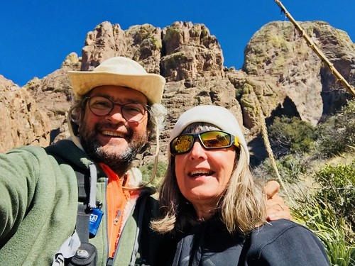 Las Cruces - Organ Peak Selfie