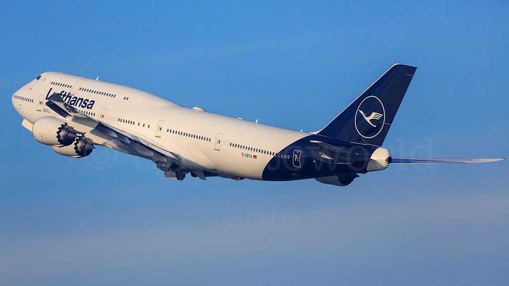 Lufthansa Boeing B747-8 D-ABYA