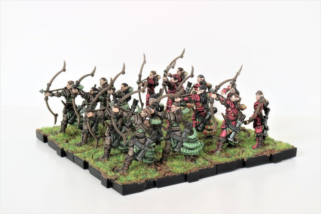 Runewars Miniatures Latari Archers