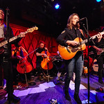 Tue, 05/12/2017 - 6:21am - Brandi Carlile and her band (the twins, plus drums and strings) play for lucky WFUV Marquee Members at Rockwood Music Hall in New York City, 12/5/18. Hosted by Rita Houston. Photo by Gus Philippas/WFUV.