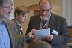 Maximilian Weise, Schüler und Klaus-Dieter Pohl, Projektleiter der Länder