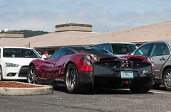 Shopping With The Huayra.