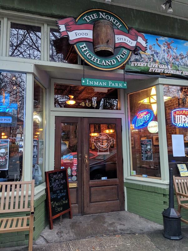 IMG_20180111_171113 2018-01-11 North High Highland Avenue at Colquitt Restaurants Folk Art restaurant Il Localino Italian Restaurant North Highland Pub Wisteria Restaurant