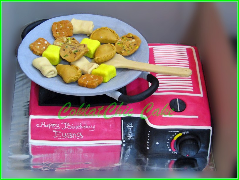 Cake Kompor EYANG 18 cm