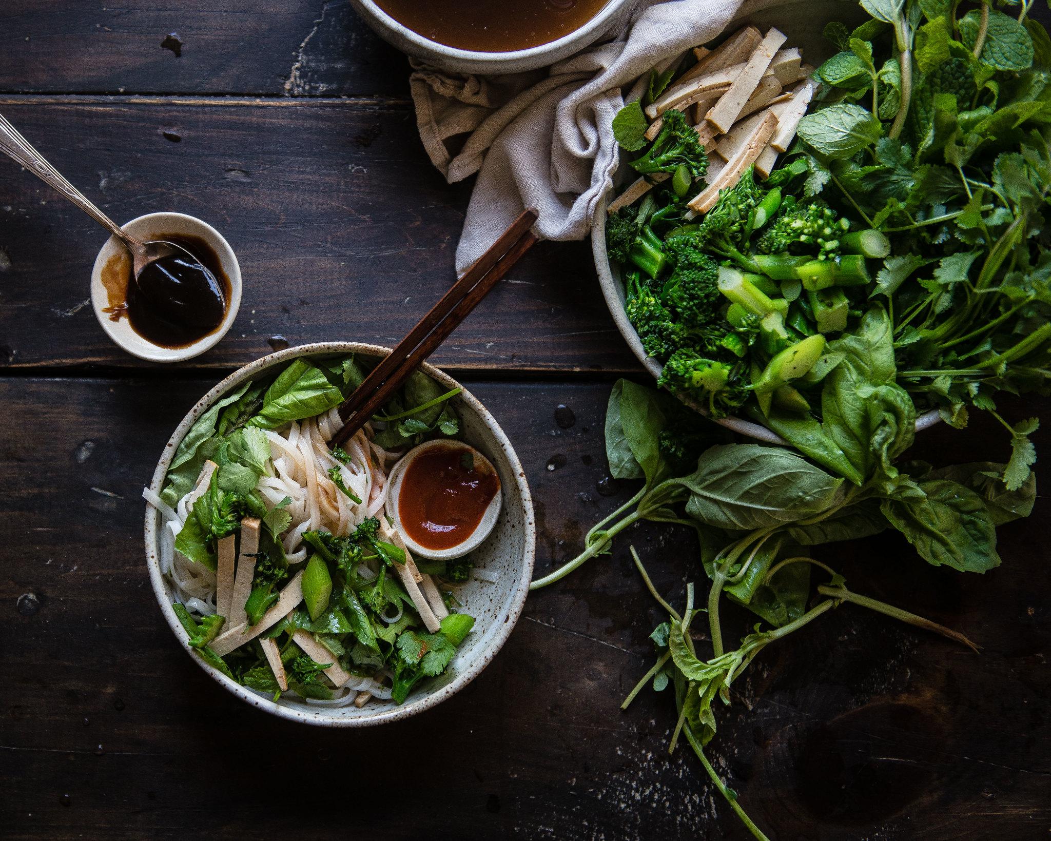 pho noodle salad