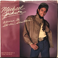 MICHAEL JACKSON:WANNA BE STARTIN' SOMETHIN'(JACKET A)