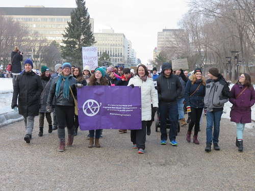 March On Edmonton - Women's Anniversary March 2018