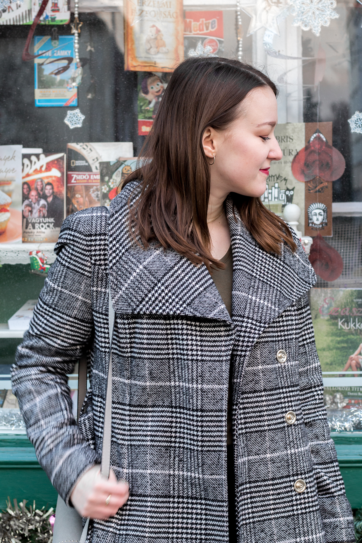 Gingham Coat Outfit