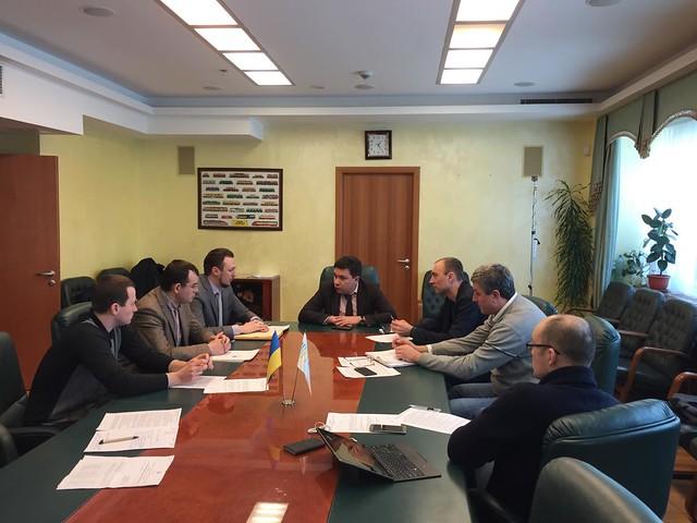 Перше засідання Комітету дорожнього господарства Експертної ради при МІУ