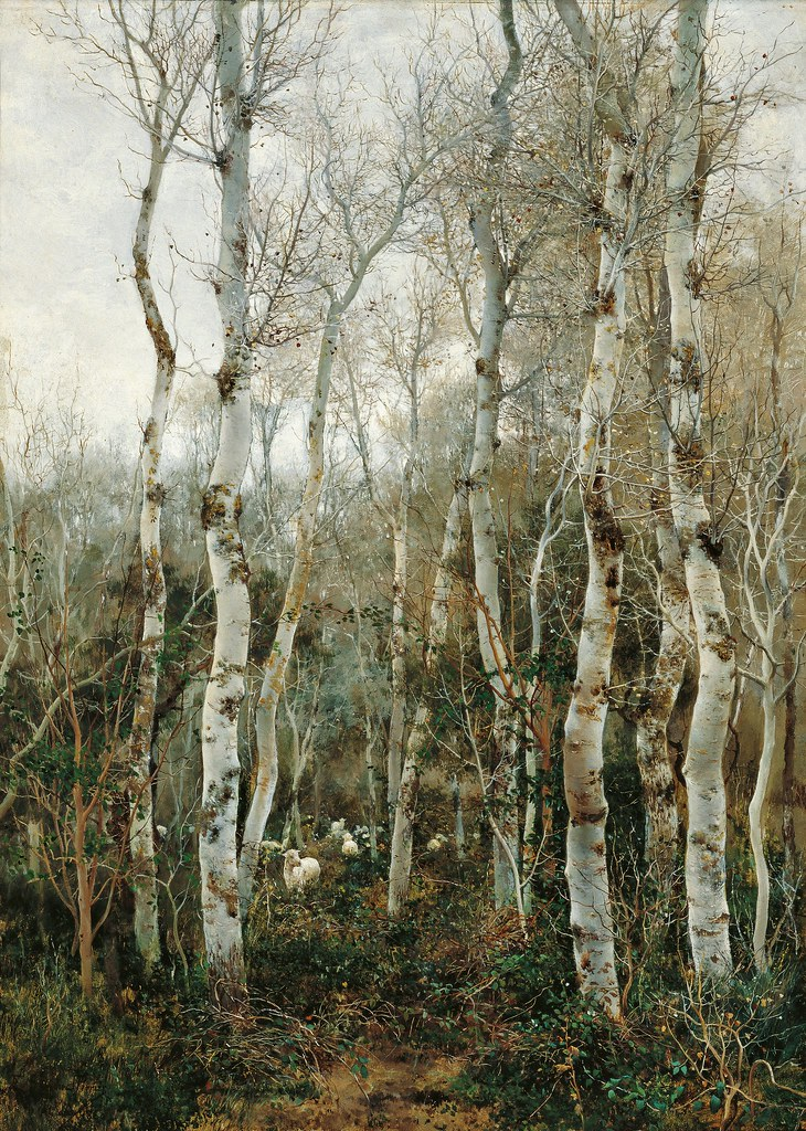 Emilio Sánchez-Perrier - Winter in Andalusia (1880)
