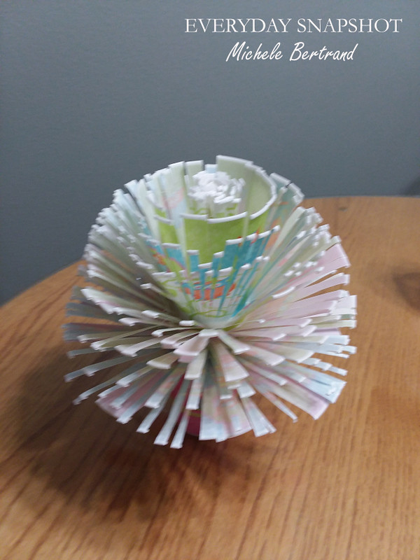 Dixie Cup Flower Bouquet 2