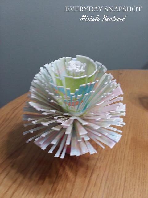 Dixie Cup Flower Bouquet 2