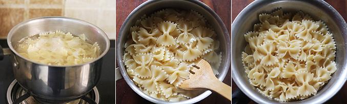 How to make pasta casserole recipe - Step1