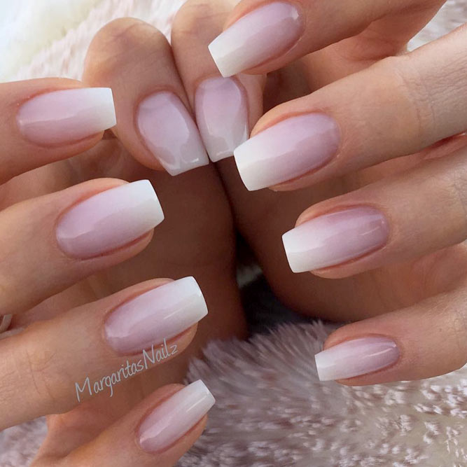 Natural Nail Art Ideas: Trendy Gel Nail Colors For 2018+2019