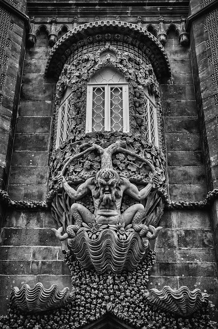 The Triton of Pena Palace.