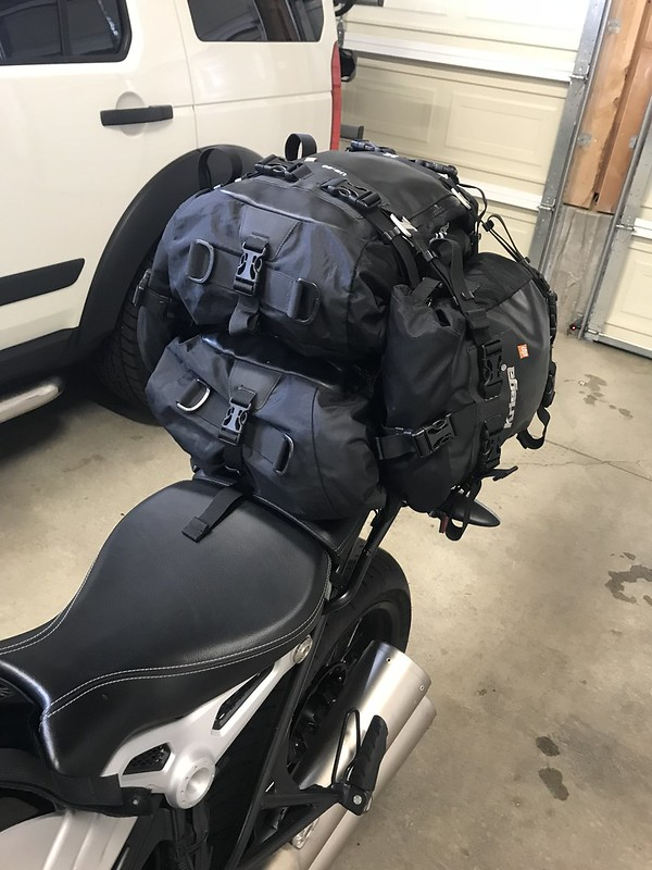 Bmw Fort Worth >> SOLD: Kriega Bags and Unit Garage Tail Rack - BMW NineT Forum