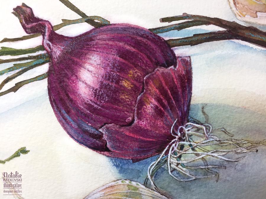 Bulbs, detail