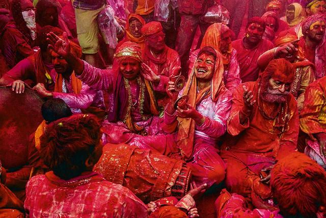 Holi of Mathura