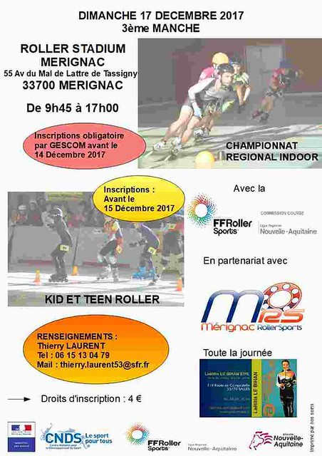 3ème Manche Kid's/ Indoor 17.12.2017