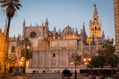 Seville , Cathedral and La Giralda