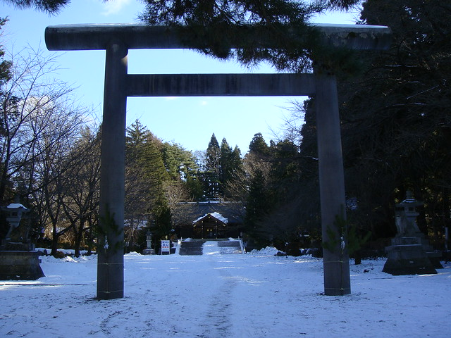 The Torii entrance