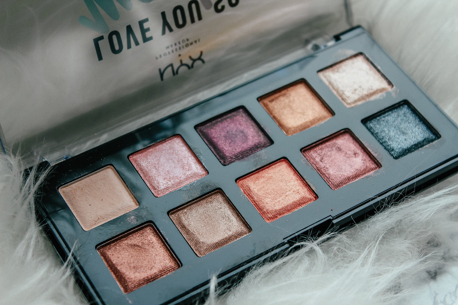 NYX Love you So mochi palette review