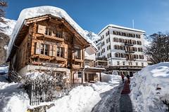 Val d anniviers village de zinal valais suisse