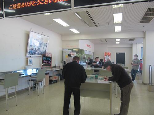 金沢競馬場のレストホースピア