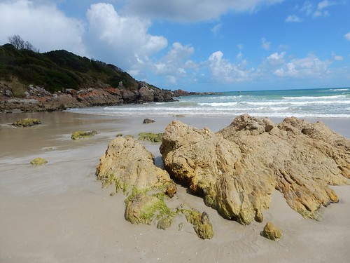 Rocky Empty Beach