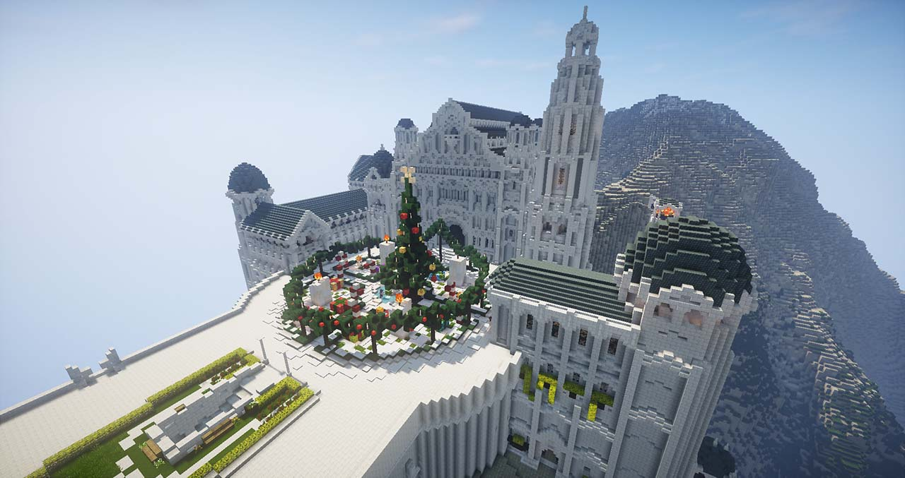 Minecraft Middle Earth By @mcmiddleearth: Minas Tirith - The Capital Of Gondor