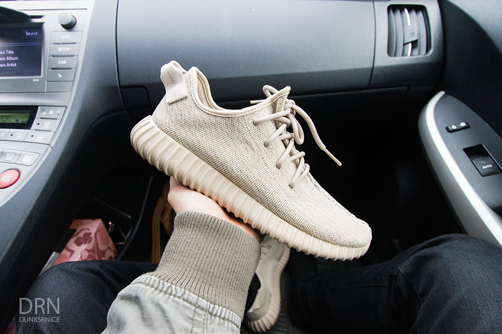Adidas Oxford Tan Yeezy 350.