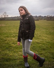 Shared on my story yesterday, but here it is in case you missed that, by beautiful baby girl looking like a proper country girl (in her new @bogsfootwear boots, she's showing them off at school today) as we took the monster @colinredboy for a walk. #fashi