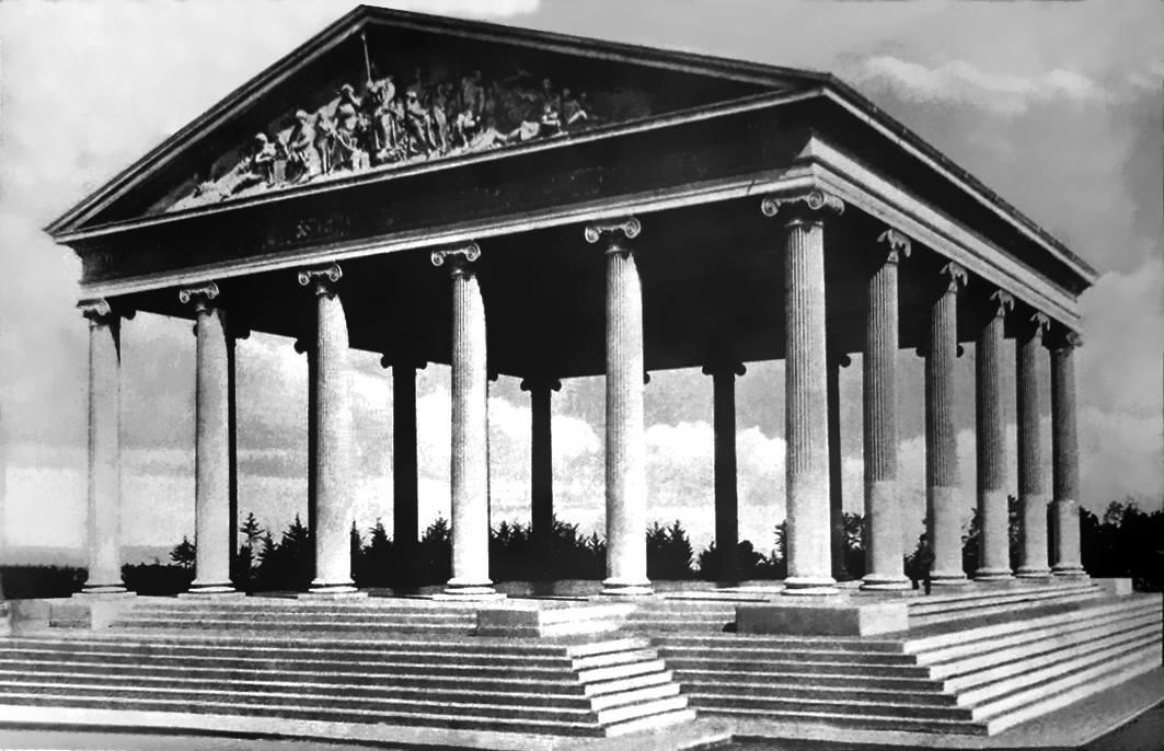 Templo de Minerva, 1905.