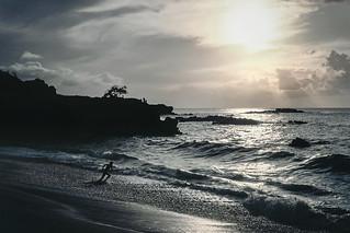 Hawaii Sunset - Waimea Beach Runner