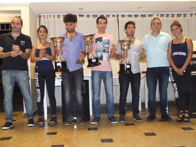 Entrega de trofeos piloto Kart Regional 2017